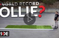Jordan Hoffart - World Record Ollie