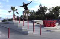 TJ Rogers at Vans Skatepark in Huntington Beach