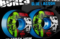 "Chris Haslam New ""Blue Lagoon"" Street Tech Formula Wheel"