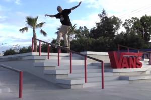 TJ Rogers at Vans Skatepark in Huntington Beach