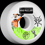 BONES WHEELS SPF Pro McClain Duck Hunt 55mm 4pk