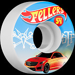 BONES STF Pro Fellers Hot Wheels 54x30 V3 Skateboard Wheel 83B 4pk