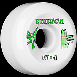 BONES WHEELS STF Pro Bingaman Burney Wheel 53mm 4pk