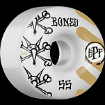 BONES SPF War Paint 55x34 P4 Skateboard Wheel 81B 4pk