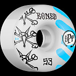 BONES SPF War Paint 53x34 P4 Skateboard Wheel 81B 4pk