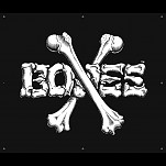BONES WHEELS BW Cross Banner 36 x 36