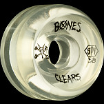 BONES WHEELS SPF Clear Natural 58mm 4pk