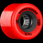BONES WHEELS Rough Riders 56mm Red Wheel 4pk