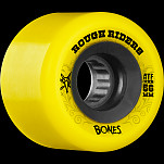 BONES WHEELS Rough Rider 56mm Yellow Wheel 4pk