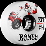 BONES ATF SEG Cross 54x33  Skateboard Wheel 80a 4pk
