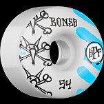 BONES SPF War Paint 54x34 P4 Skateboard Wheel 84B 4pk