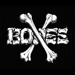 "BONES WHEELS Crossbones 12"" Sticker 10pk"