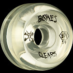 BONES WHEELS SPF Clear Natural 54mm 4pk