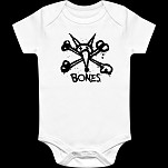 BONES WHEELS Vato Stacked Onesie White