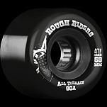 BONES WHEELS Rough Riders Black 59mm 4pk