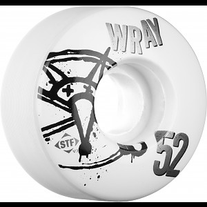 BONES WHEELS STF Pro Wray Numbers 52mm 4pk