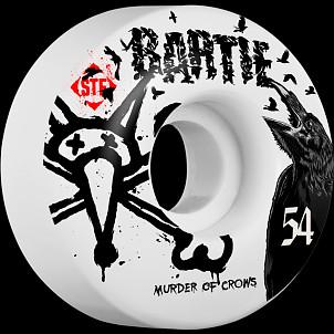 BONES WHEELS STF Pro Bartie Crow 54mm 4pk