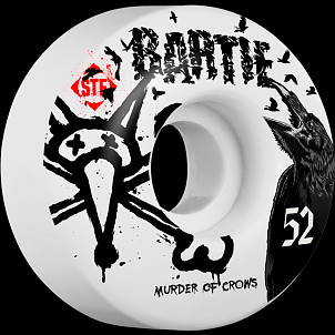 BONES WHEELS STF Pro Bartie Crow 52mm 4pk