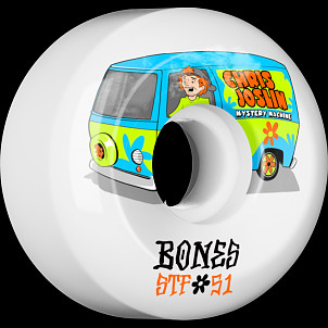 BONES WHEELS STF Pro Joslin Shaggy 51mm 4pk