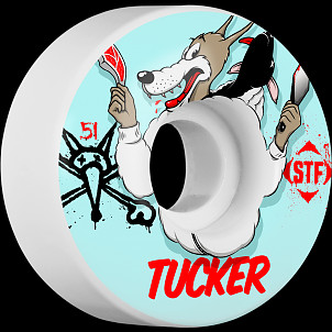 BONES WHEELS STF Pro Tucker Wolfpack 51mm 4pk
