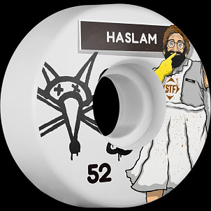 BONES STF Pro Haslam Lunch Lady 52x29 V3 Skateboard Wheel 83B 4pk