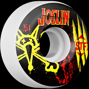 BONES WHEELS STF Pro Joslin Ex-Men 51mm 4pk