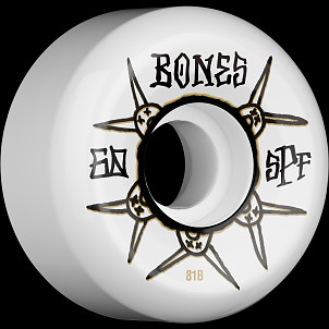 BONES WHEELS SPF Ratz 81B 60mm 4pk