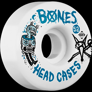 BONES STF Head Case 52x30 V1 Skateboard Wheel 83B 4pk