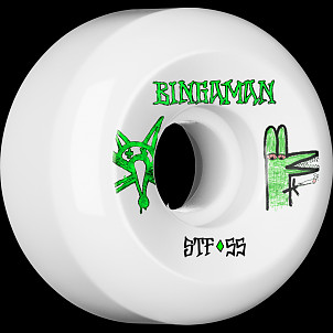 BONES WHEELS STF Pro Bingaman Burney Wheel 55mm 4pk