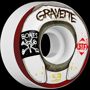 BONES WHEELS STF Pro Gravette Wasted Life 53mm 4pk