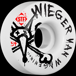 BONES WHEELS STF Pro Weiger Faded 54mm 4pk
