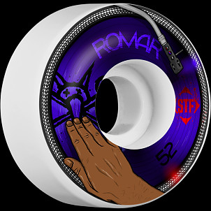 BONES WHEELS STF Pro Romar Scratch 52mm 4pk