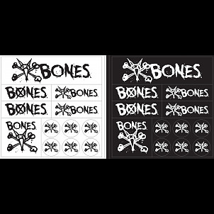 BONES WHEELS Multi Pack Single Sticker