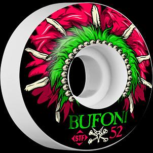 BONES WHEELS STF Pro Bufoni Head Dress 52mm 4pk