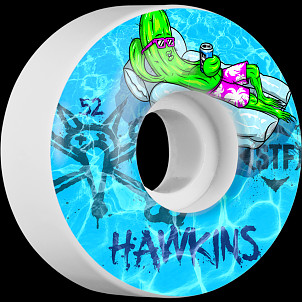 BONES WHEELS STF Pro Hawkins Water 52mm 4pk