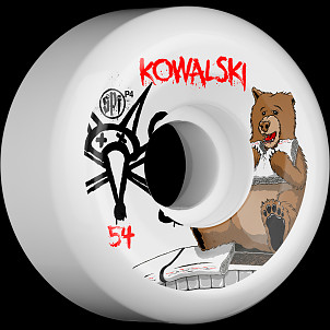 BONES WHEELS SPF Pro Kowalski Bear 54mm 4pk