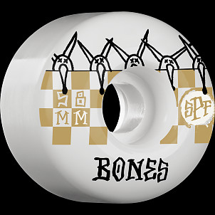 BONES WHEELS SPF Tiles 81B 58mm 4pk