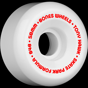BONES SPF Pro Hawk Mini Cube 58x33 P5 Skateboard Wheel 84B 4pk