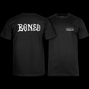BONES WHEELS Pro Raybourn T-Shirt Black