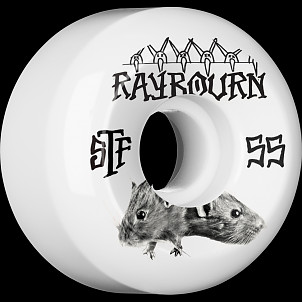 BONES STF Pro Raybourn Choose 55x32 V5 Skateboard Wheel 83B 4pk