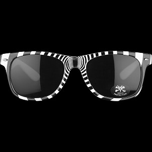 BONES WHEELS X-Ray Sunglasses White
