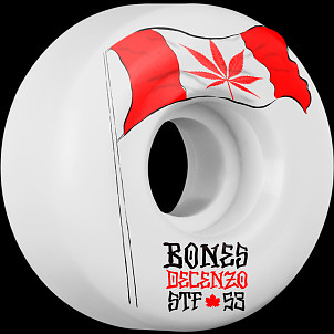 BONES WHEELS STF Pro Decenzo Flowers 53mm 4pk