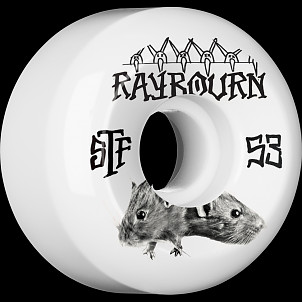 BONES STF Pro Raybourn Choose 53x31 V5 Skateboard Wheel 83B 4pk