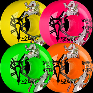 BONES WHEELS STF Party Pack III Asstd Wheel (4 pack)
