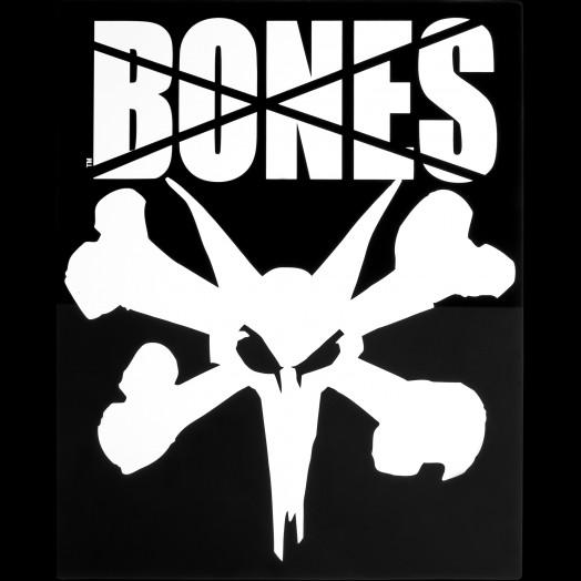 "BONES WHEELS 16"" Ramp Square Sticker (Single)"