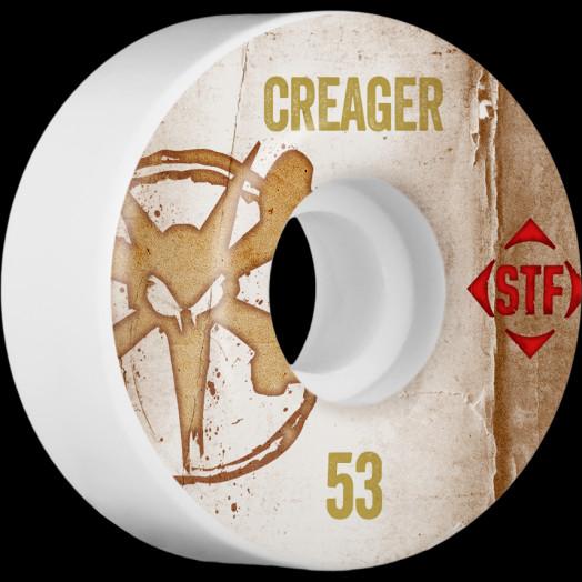 BONES WHEELS STF Pro Creager Team Vintage Wheel 53mm 4pk