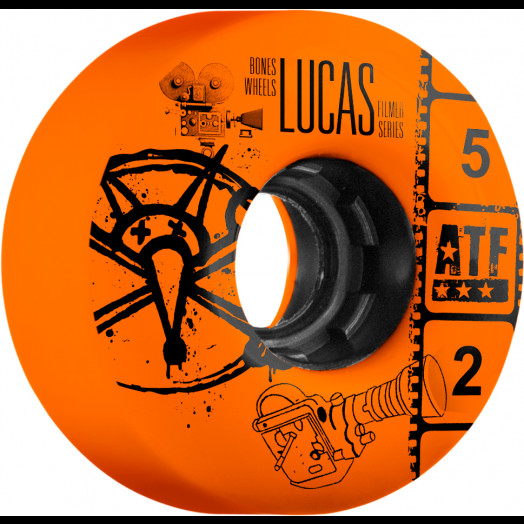 BONES WHEELS ATF Filmer Lucas Vintage Wheel 52mm 4pk