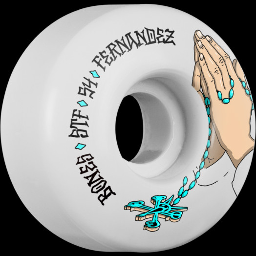 BONES WHEELS STF Pro Fernandez Prayer 54mm 4pk