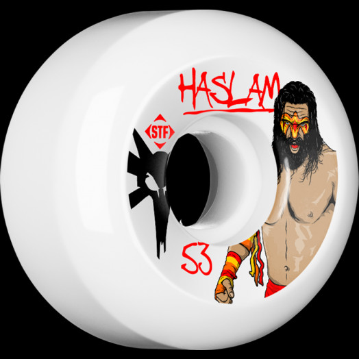 BONES WHEELS STF Pro Haslam WWF 53mm wheels 4pk