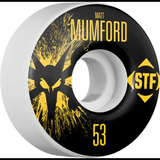 BONES WHEELS STF Pro Mumford Team Wheel Splat 53mm 4pk